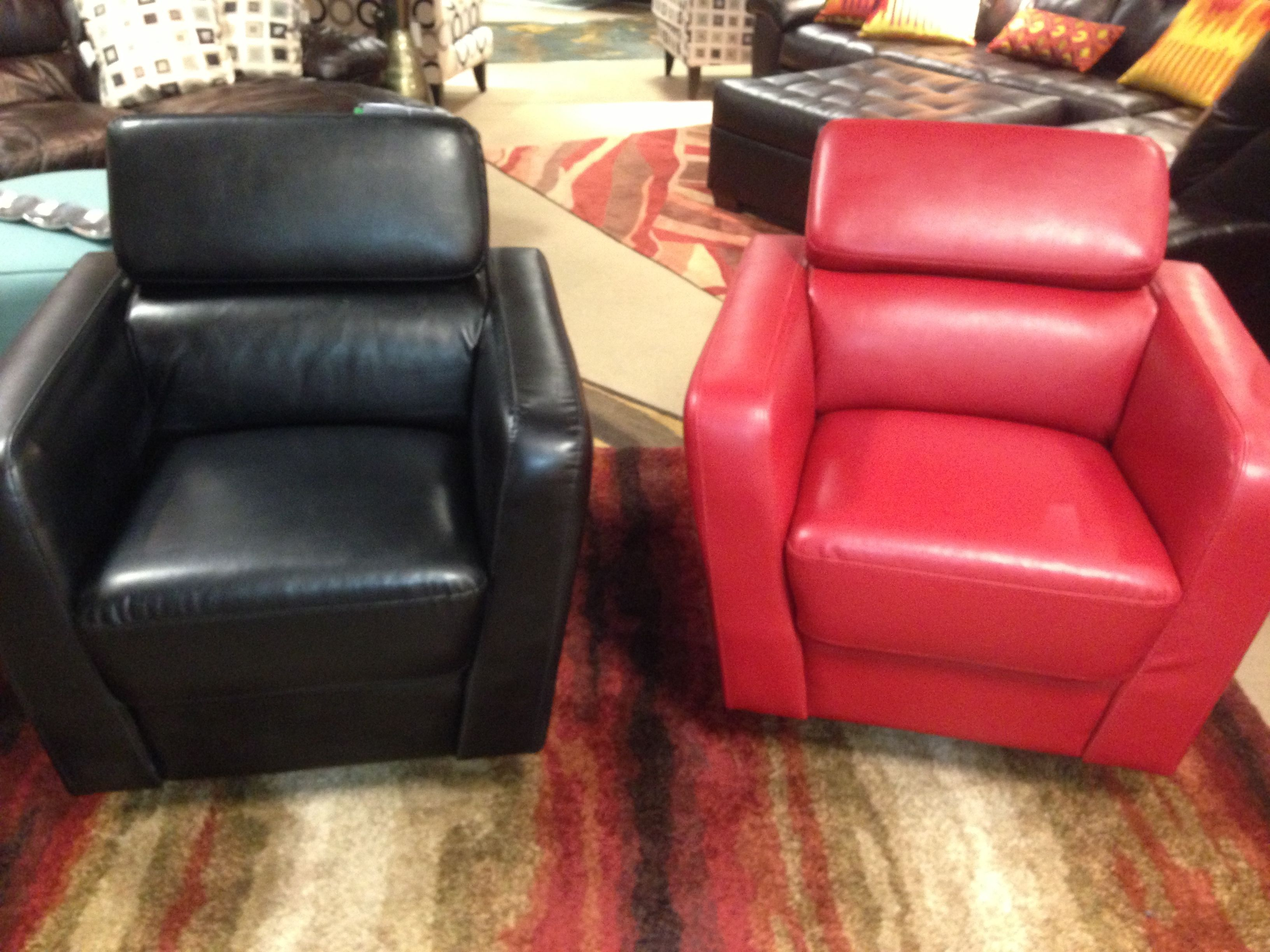 Contemporary Leather Chairs Black Red Www Miskellys Com Contemporary Leather Chair Retail Furniture Furniture