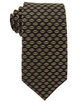 DC Comics Tie, Batman Logo - Ties & Pocket Squares - Men - Macy's