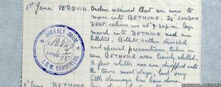 British World War One Diaries, digital and available online