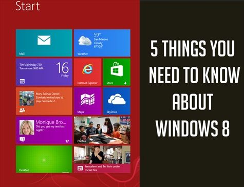 If you're considering a #windows8 upgrade, here's what you need to know.