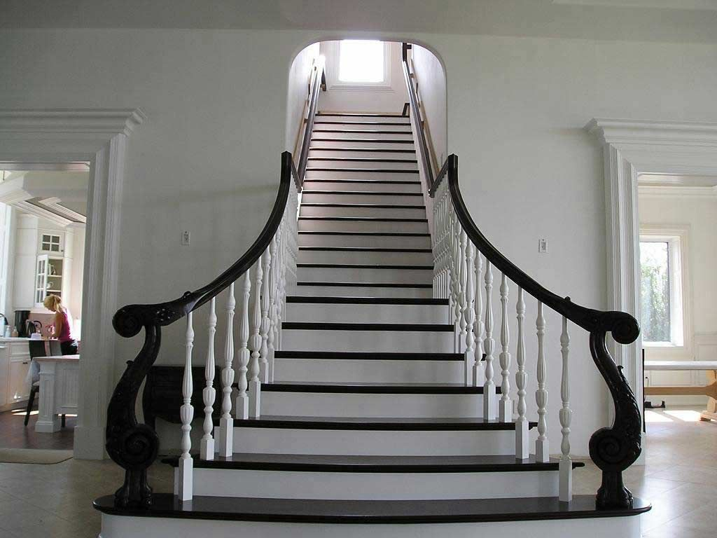 Trends of stair railing ideas and materials interior ...