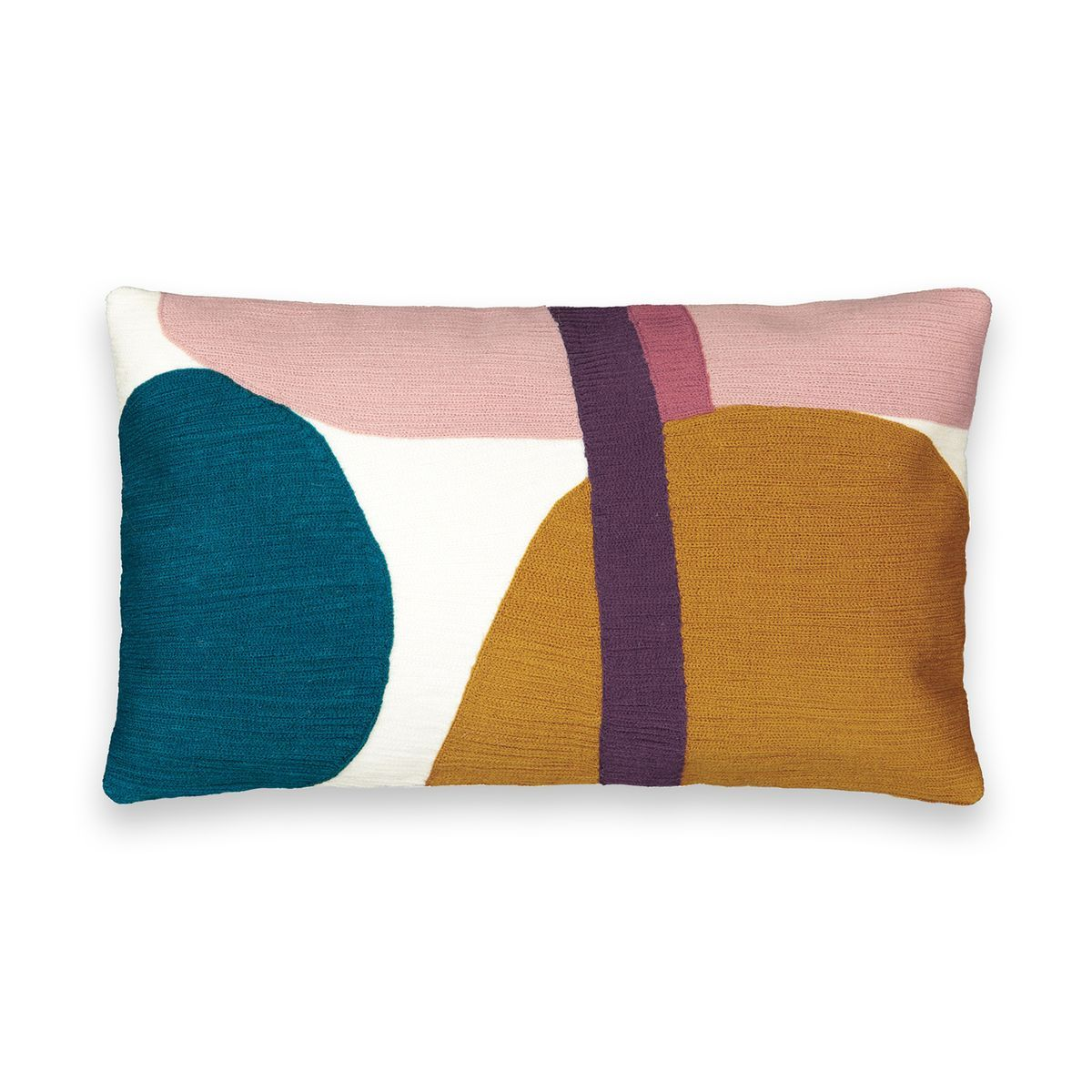 Housse De Coussin Brodee Humfy Taille 50x30 Cm Housse De Coussin Coussin Brode Et Coussins Multicolores