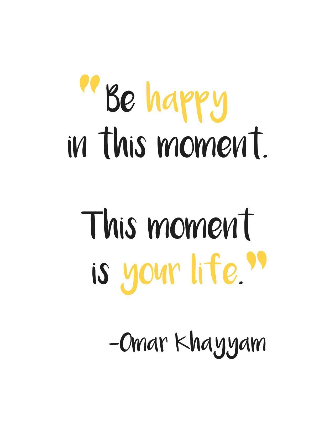 How To Live Happy Life Quotes