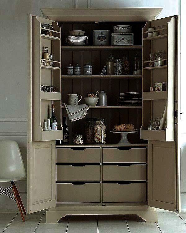 Trucos e ideas para guardar la vajilla decoraci n y m s pinterest despensa cocina alacena - Muebles para vajilla ...