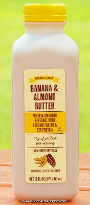 Trader Joe S Banana Almond Butter Protein Smoothie Beverage Protein Smoothie Trader Joes Almond Butter