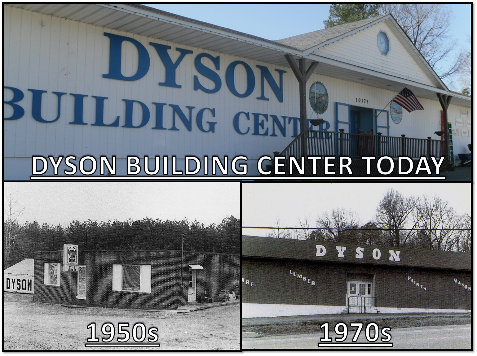 Dyson Building Center In Great Mills Maryland