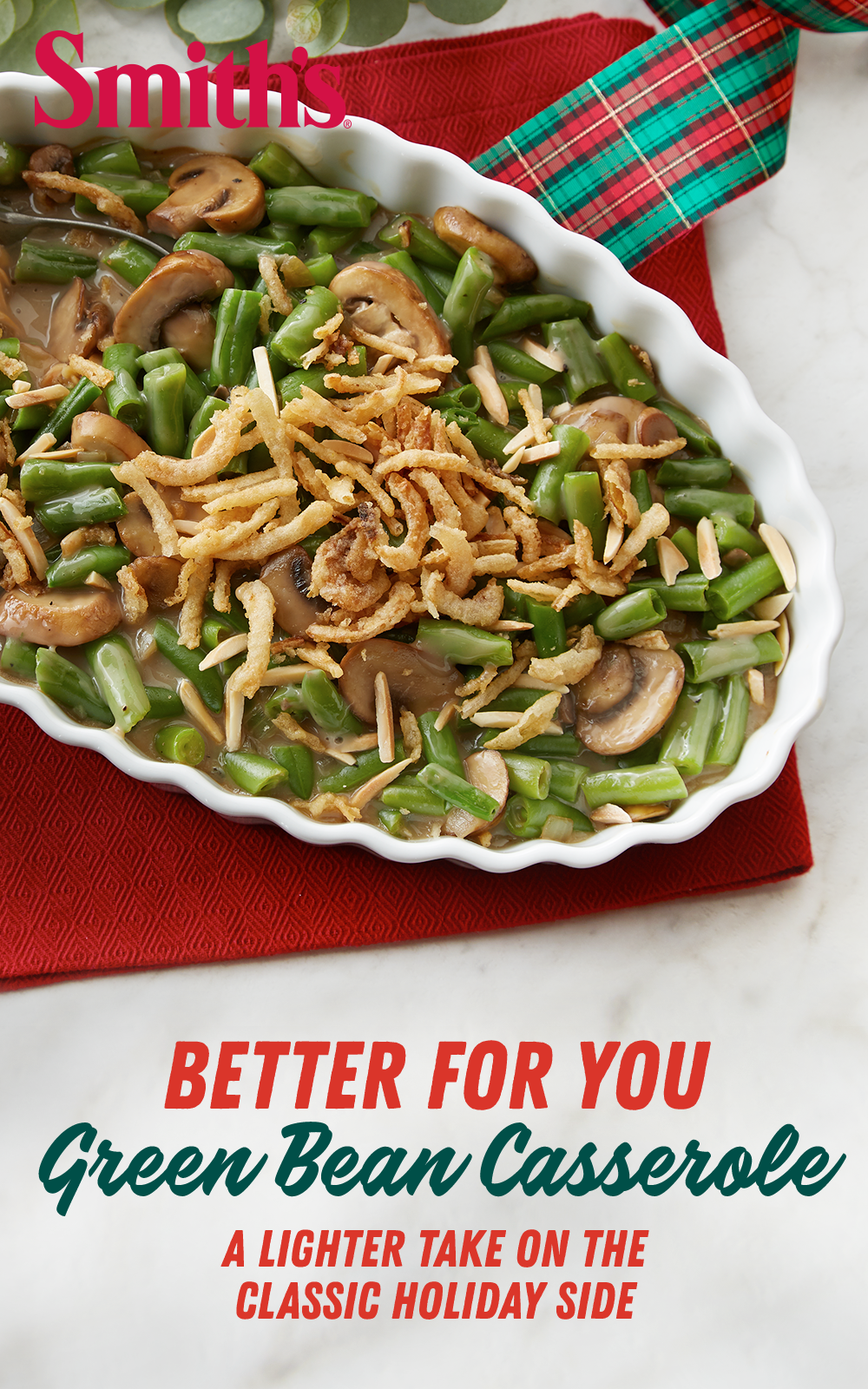 Classic Table Side Dishes Better For You Green Bean Casserole