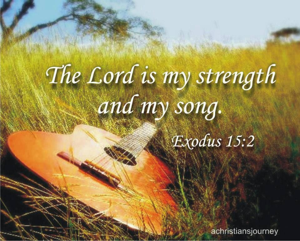 Exodus 15:2 instant download handwritten bible verse, calligraphy ...
