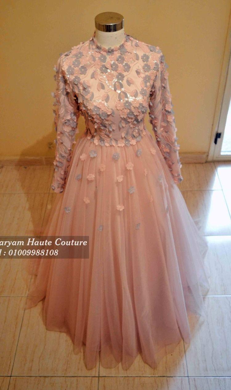 فساتين سواريه منفوشة للمحجبات Hijab Dress Party Soiree Dress Dresses