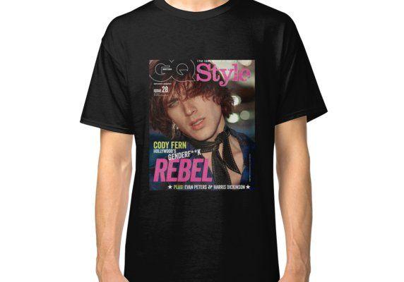 Cody Fern GQ Genderf*ck Magazine Cover Classic T-Shirt