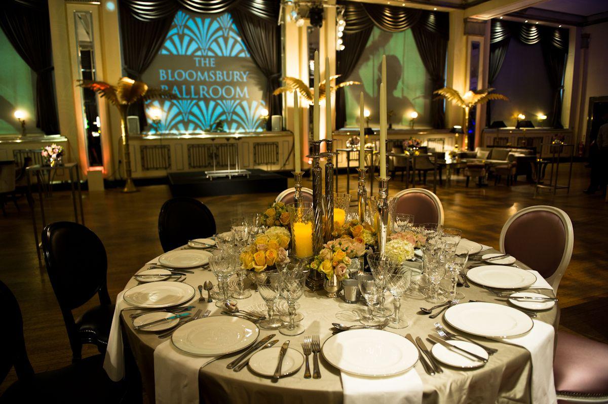 The Bloomsbury Ballroom Art Deco Style