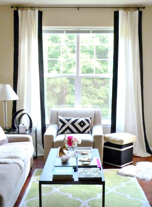 15 Ikea Hacks To Dress Up Your Windows Painted Curtains Curtain Styles Diy Curtains