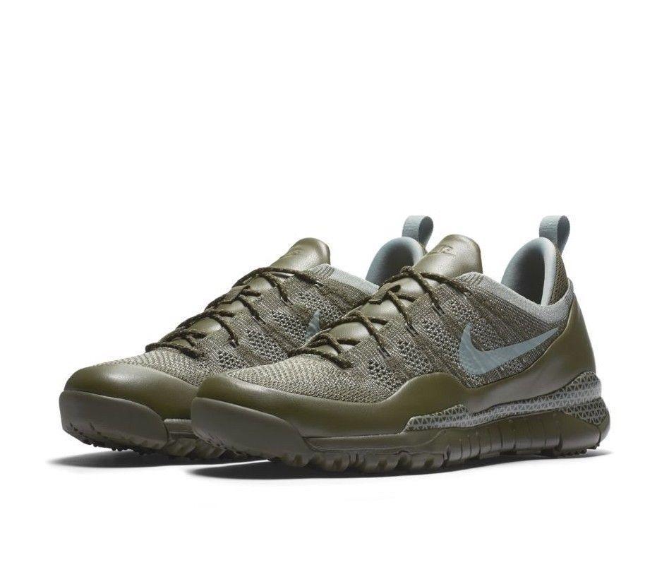 84b0338186d16b Nike Lupinek Flyknit Low Mens Shoes Sneaker Boot 10 Cargo Khaki 882685 300   Nike  HikingShoes