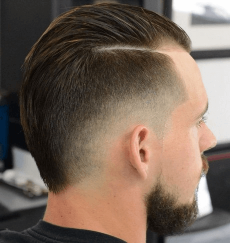 Frisuren manner flacher hinterkopf