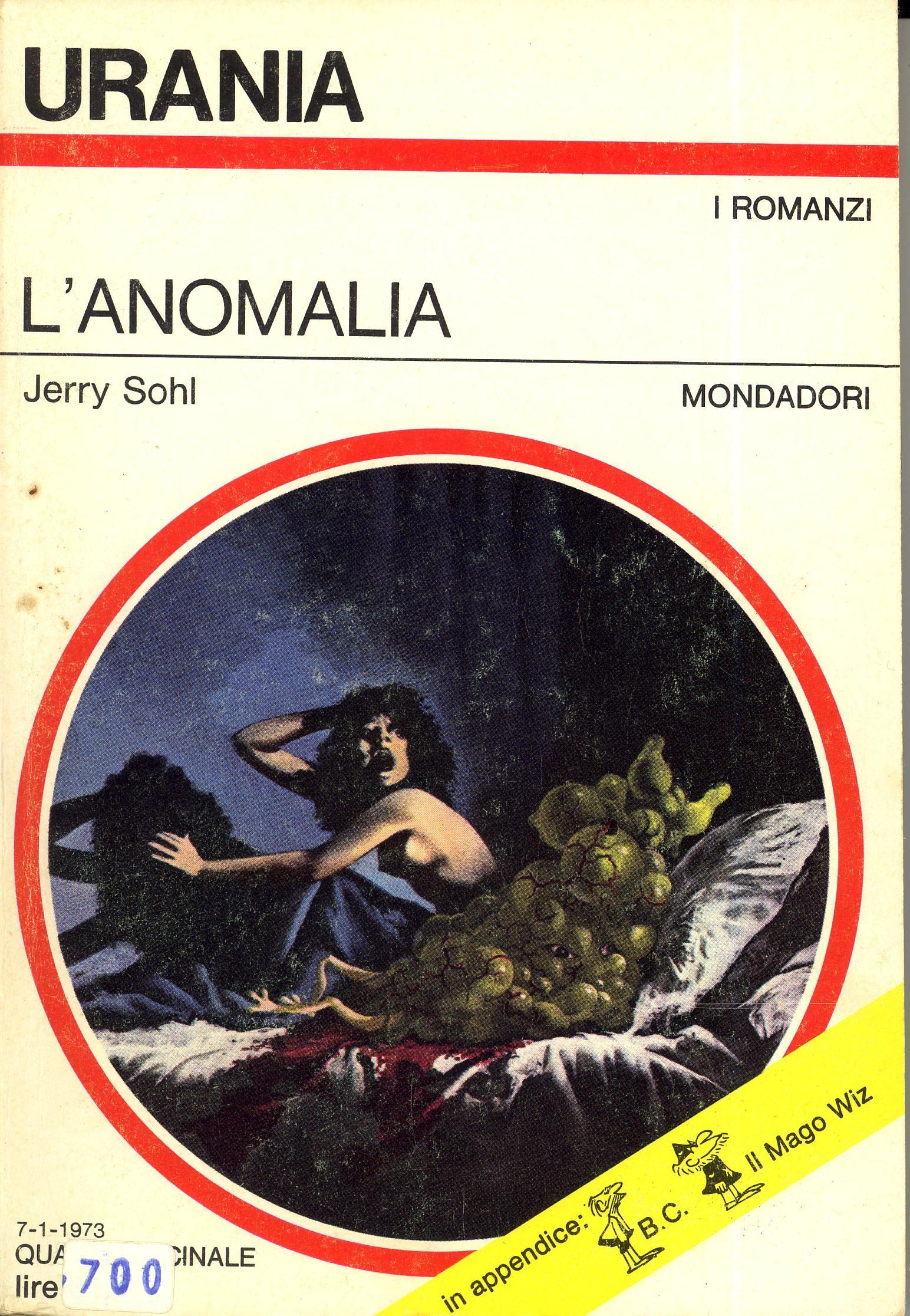 1973.609 Jerry Sohl - L'anomalia