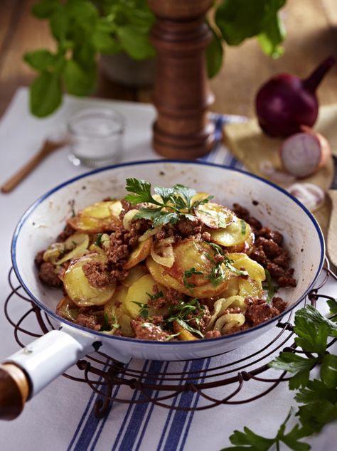 Kartoffel Bilder Kostenlos kartoffel hack pfanne rezept beliebtesten rezepte kartoffeln und