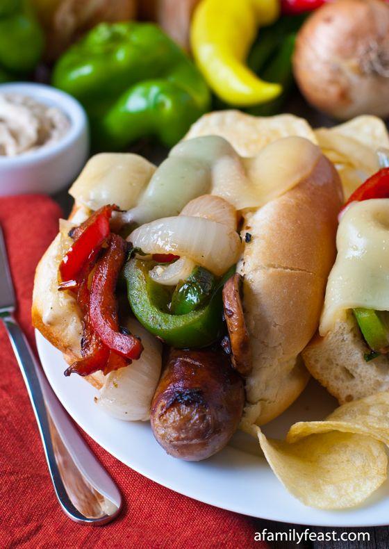 Italian Sausage Sub with Toasted Fennel Aioli