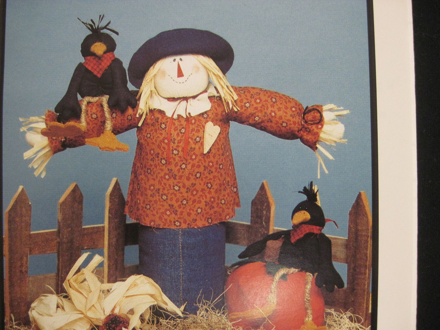 Scarecrow And Friends Pattern Using A Recycled Plastic Bottle Etsy In 2020 Scarecrow Recycled Plastic Plastic Bottles
