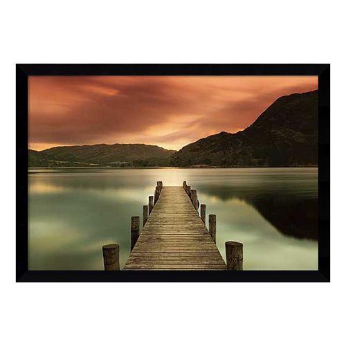 Amanti Art \'\'Ullswater\'\' Dock Framed Wall Art   Pinterest   Framed ...
