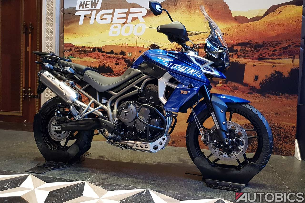 New 2018 Triumph Tiger 800 XR, XRx & XCx Launched in India