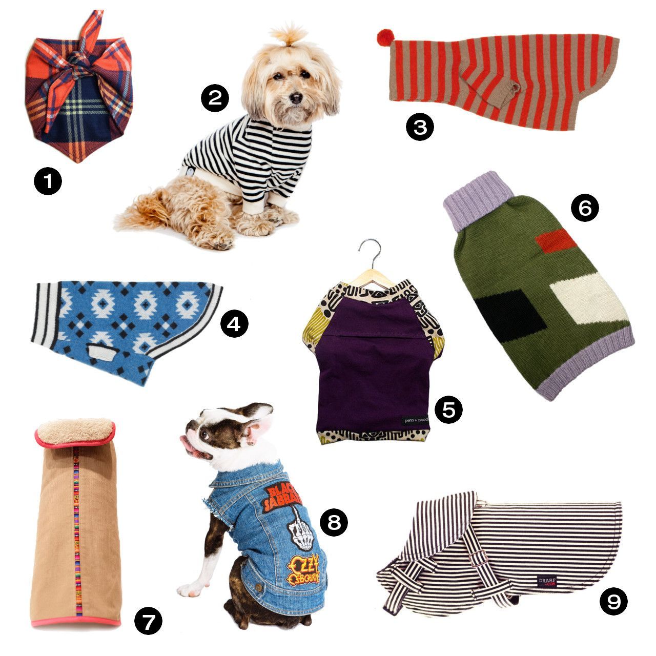 Holiday Gift Guide 26 Awesome Dog Coats Sweaters And More With Images Dog Coats Dog Clothes Dog Milk