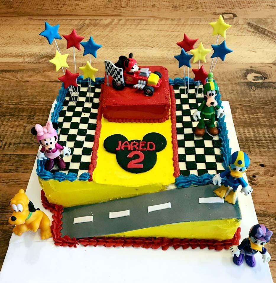 Lucas Birthday Mickey Roadster Racers Birthday Mickey Birthday