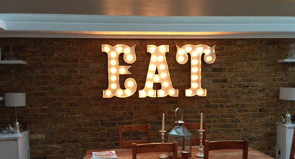 Light up Letters Fairground Lights Cinema Signs Neon Signs