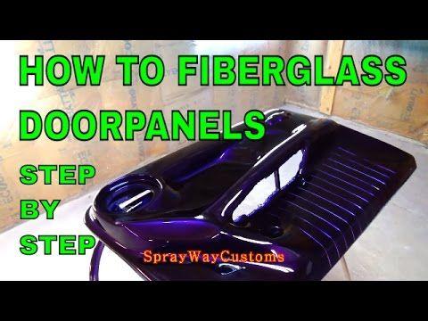 How To Fiberglass Door Panels Step By Step Box Chevy Caprice Allkandy Wet Wet House Of Kolor Yo How To Fiberglass Custom Car Interior Fiberglass Door