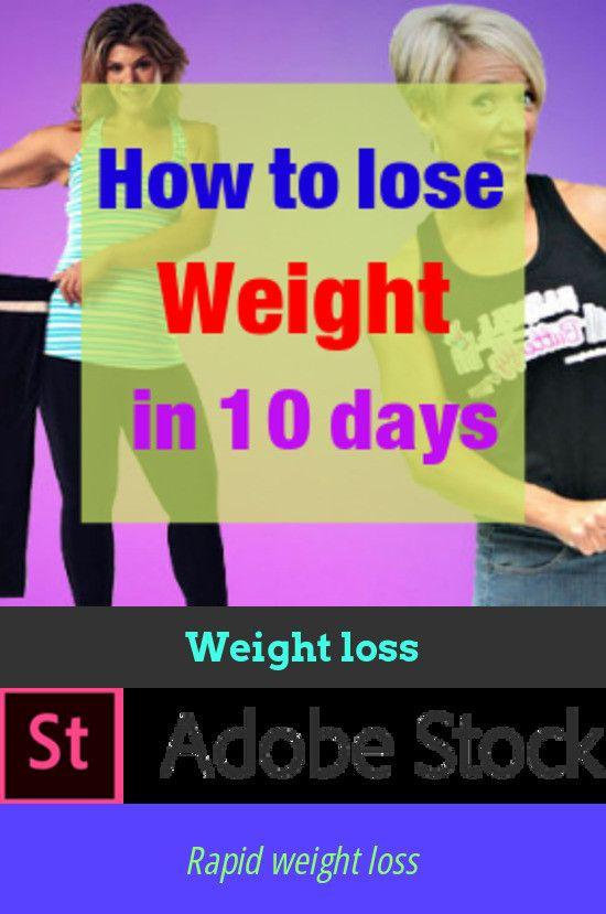 rapid weight loss reasons
