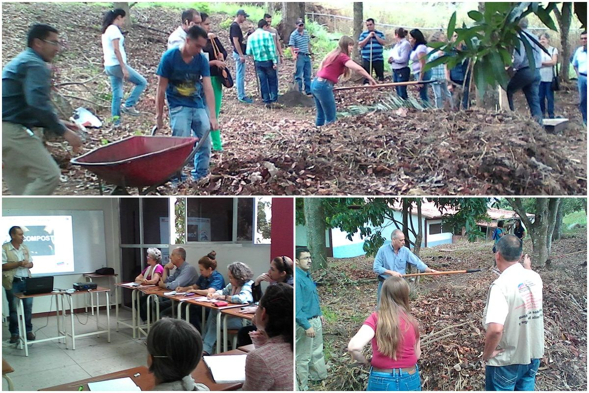 #UBVrevoluciondelSaber Táchira realiza taller teórico práctico sobre semillas y compost