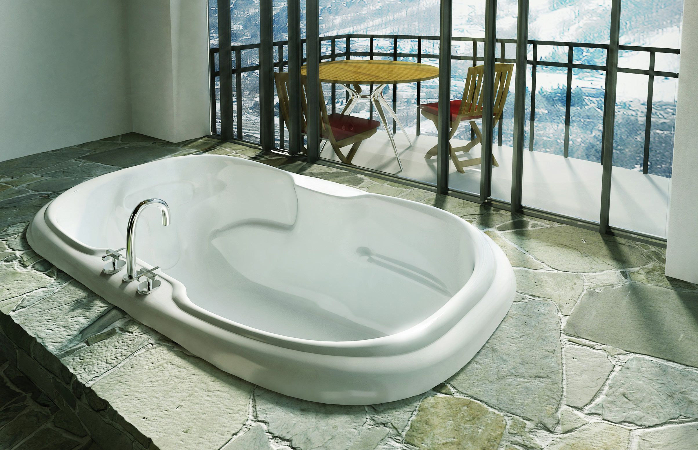 Calla Drop-in bathtub - MAAX Collection | Bathrooms | Pinterest ...