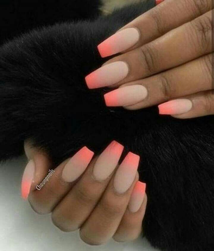 Discover Ideas About Neon Orange Nails