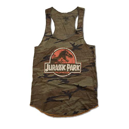 Jurassic Park Camo Ladies Tank #jurassicparkworld