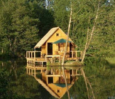 Vous Désirez Construire Une Cabane En Bois Nous Proposons Des Modèles De Originales à Soi Même Plan