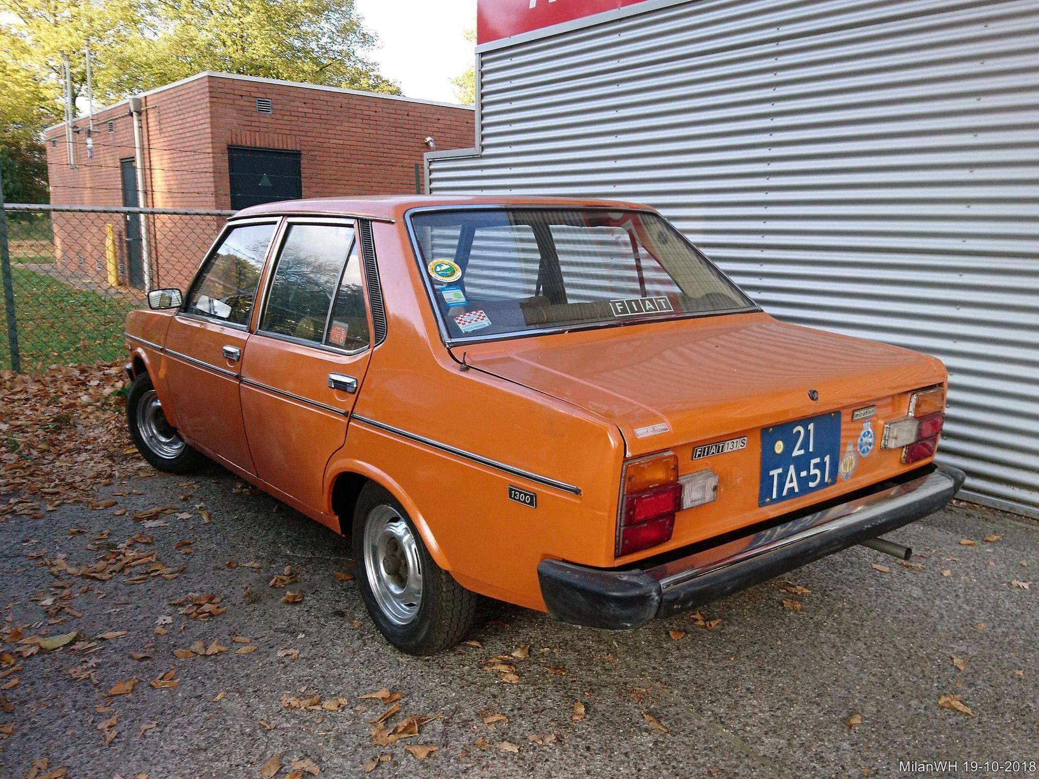 Fiat 131 S Mirafiori 1300 1977 21 Ta 51 With Images Fiat