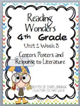 Reading Wonders Fourth Grade Unit 1 Week 3 | Reading Wonders
