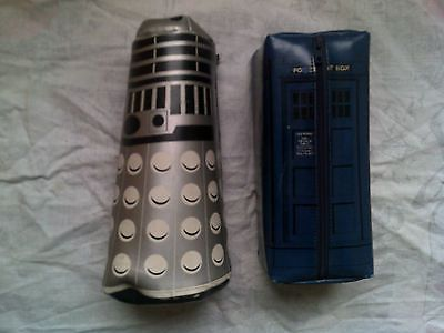 Doctor who - #vintage dalek and #tardis #pencil case 1980's very rare,  View more on the LINK: http://www.zeppy.io/product/gb/2/262798504387/