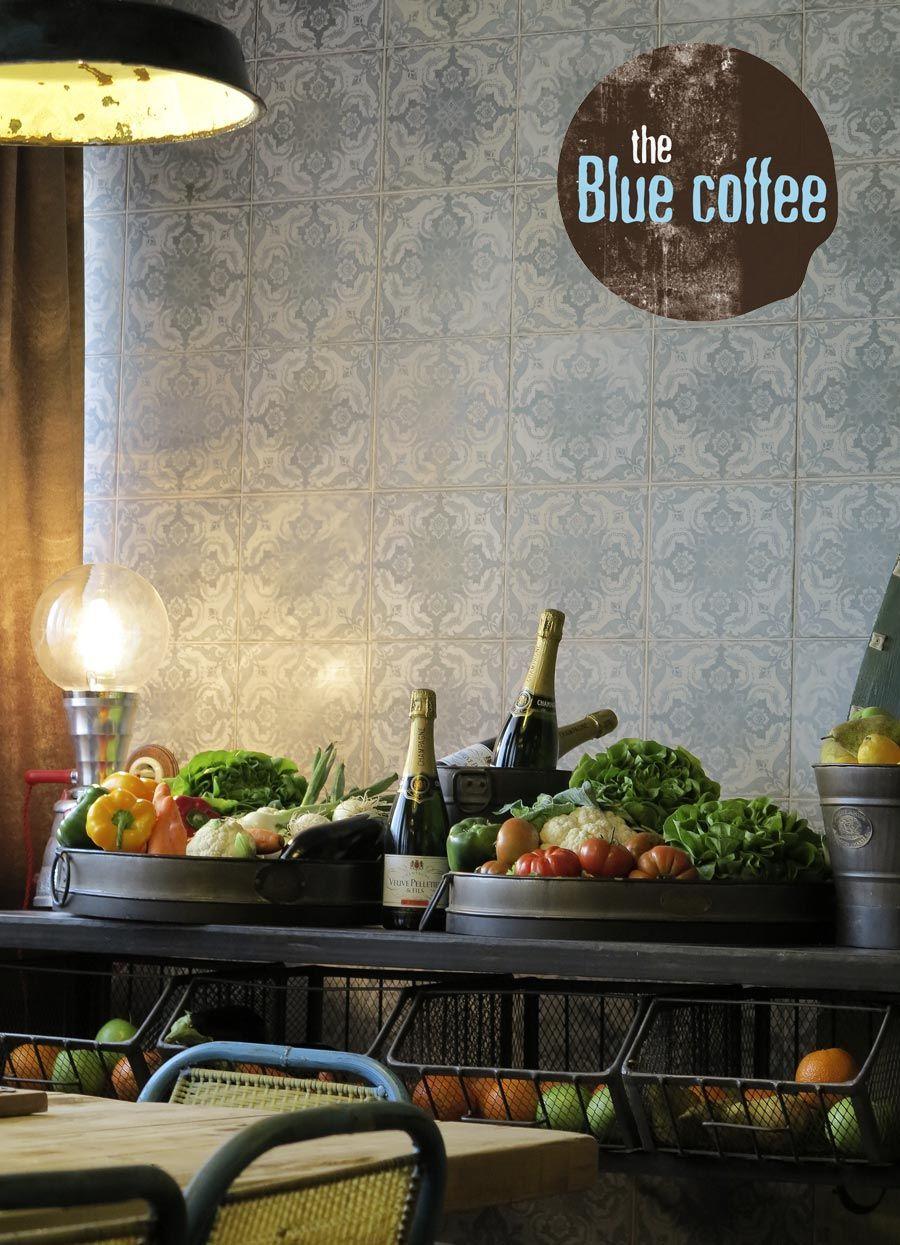 The Blue Coffee. Proyecto de interiorismo para restaurantes y ...