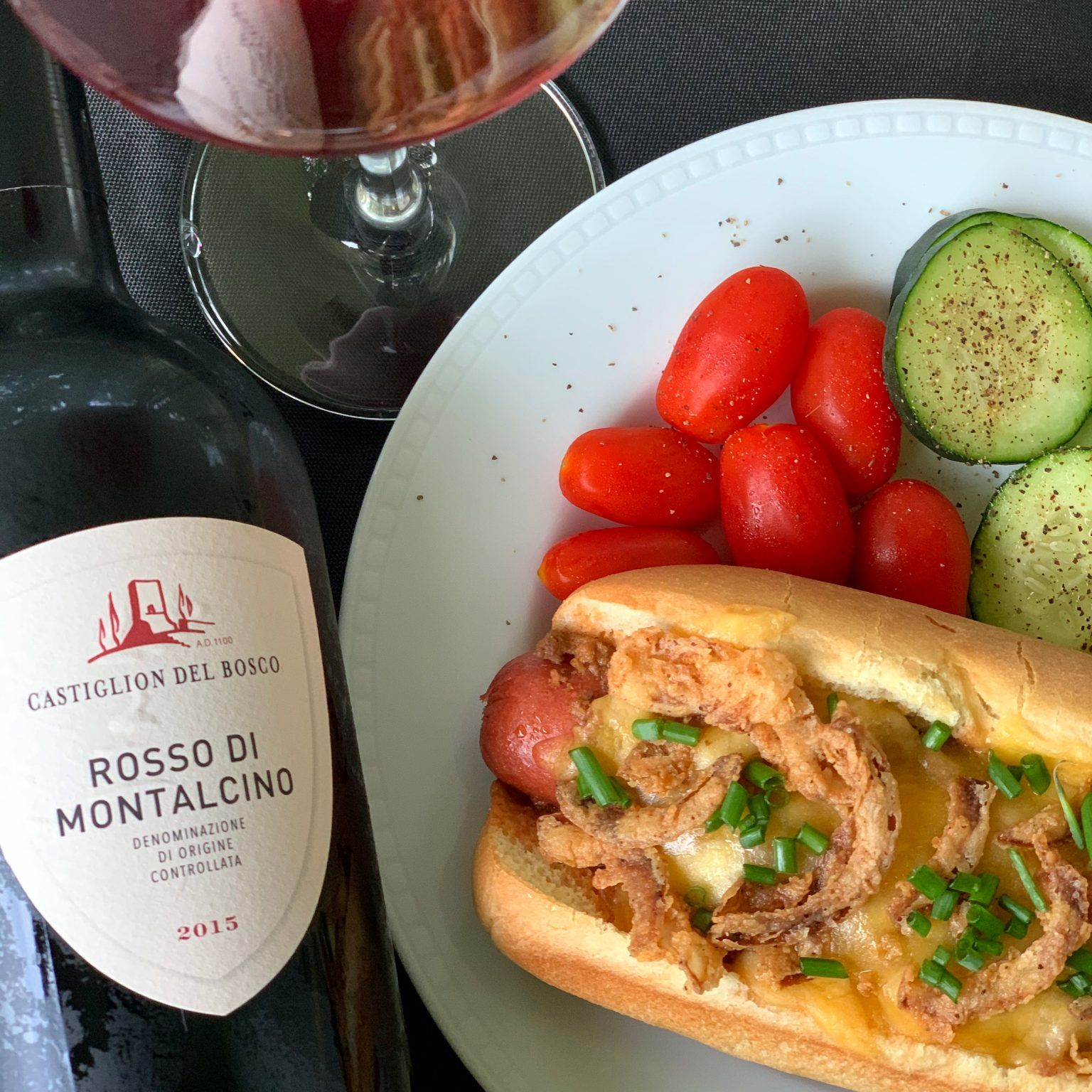 Exploring Sangiovese And Pairing Rosso Di Montalcino With A Summer Classic Italianfwt The Corkscrew Concierge In 2020 Wine Food Pairing Food Pairings Italian Recipes