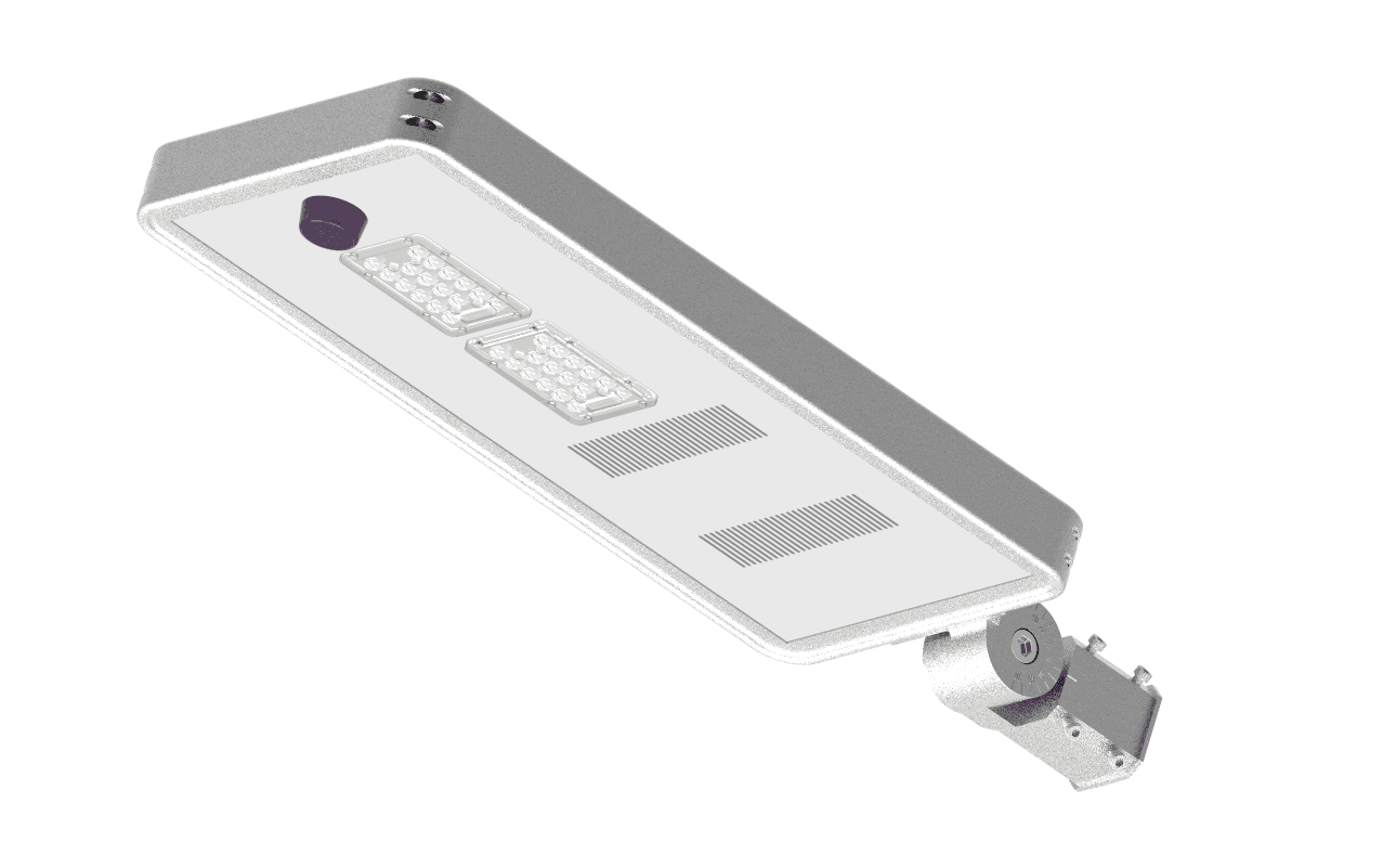 High Lumen Aa I Series Integrated Solar Street Light 10w 40w With Buy Cheap Led Powered Integration Phillips 170lm