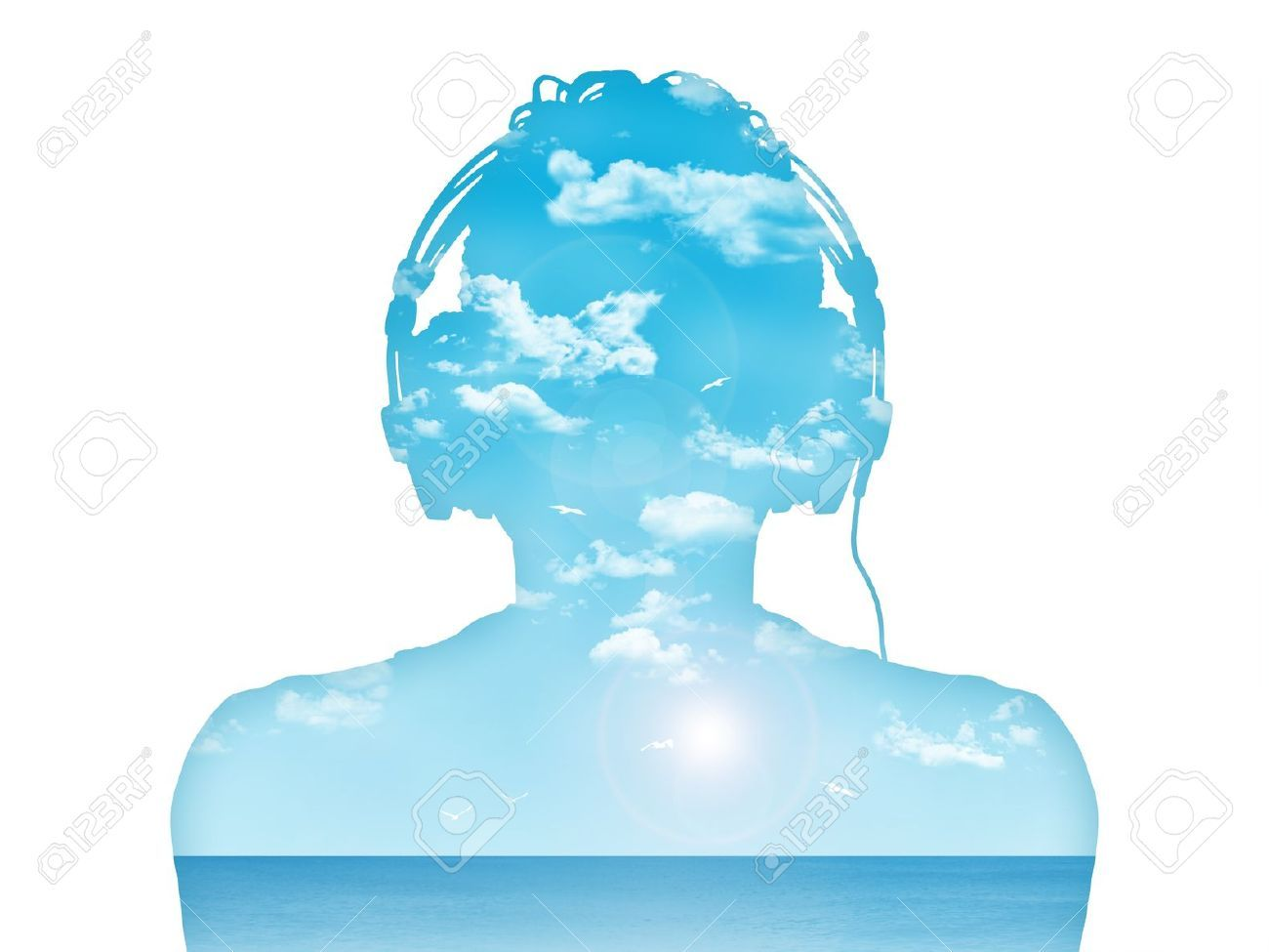 silhouette of headphones - Google Search