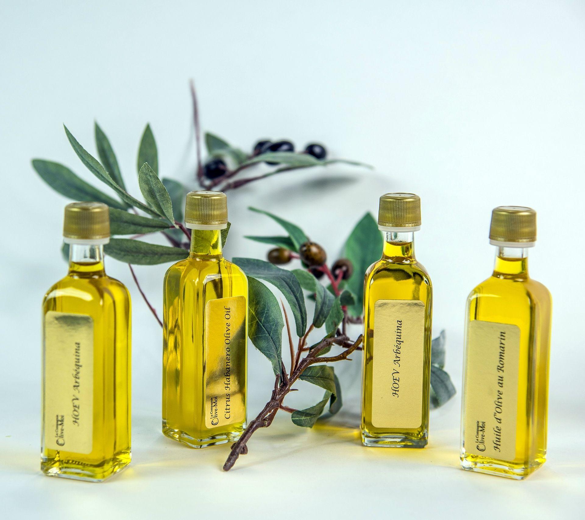 Agrandir l'image de Kit de dégustation de 4 petites huiles