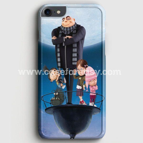 Despicable Me Minions Nebula Mustache iPhone 7 Case | casefantasy