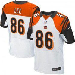 $78.00--Donald Lee White Elite Jersey - Nike Stitched Cincinnati ...