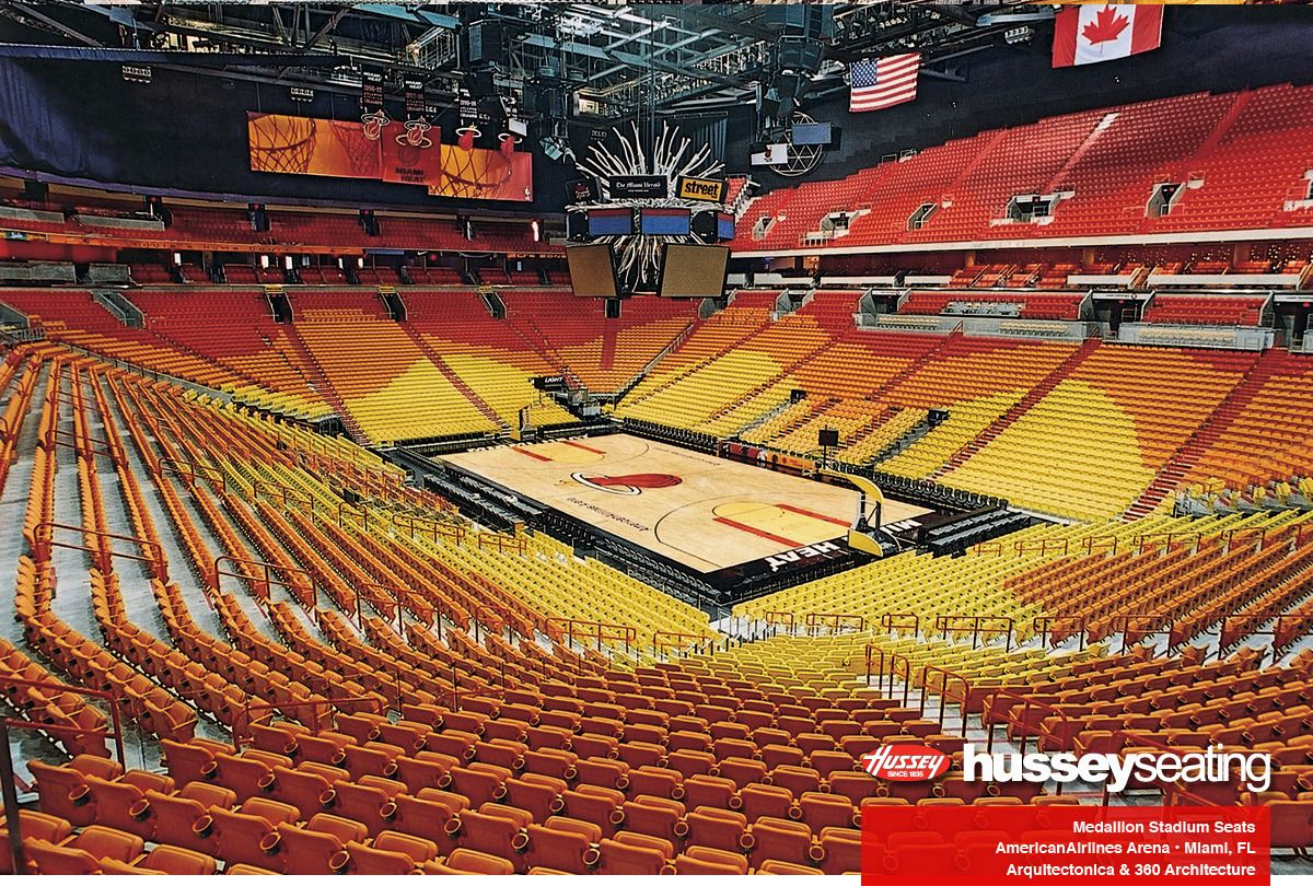 American Airlines Arena Stadium Seating Photos Hussey Seating City Postcard Blue Chairs Living Room Outdoor Chaise Lounge Chair