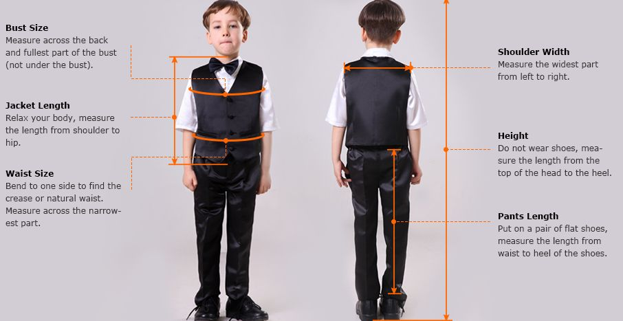 How to Measure your boys for a suit. taking a boys