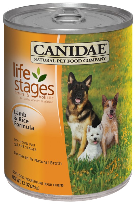 Canidae All Life Stages Dog Wet Food Lamb Rice Formula Dog Food Recipes Canned Dog Food Dog Food Brands