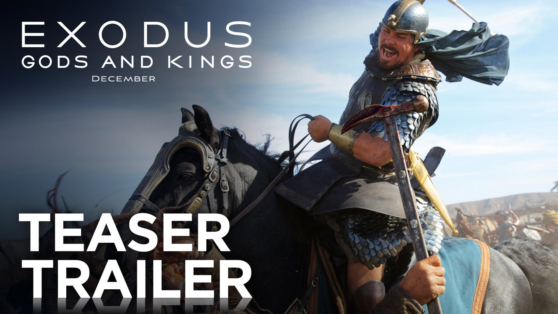 Exodus Gods and Kings Teaser Trailer [HD] 20th