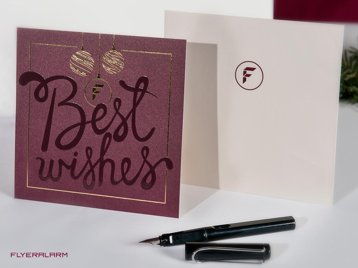 Weihnachtskarten Flyeralarm.Drucken Sie Online Postkarten Zur Kundenbindung Oder Anbahnung Neuer