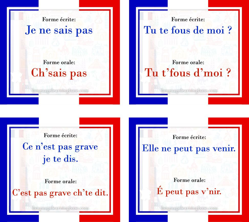 Pin On French Language Aids Mostly From Facebook